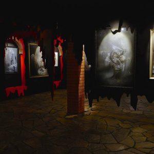 Inside Bardo gallery. © S V Mitchell