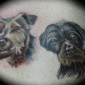 Small tattoos by S V Mitchell