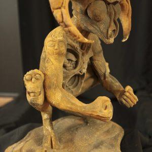 HOMAGE, cast iron 55x33x64cm  © S V Mitchell