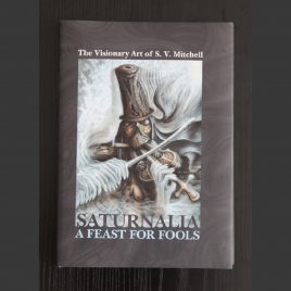 S V Mitchell artist book Saturnalia the feast for fools