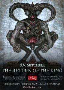 S V Mitchell artist exhibition the return of the king