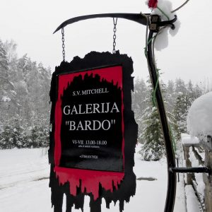 Winter at Bardo gallery.  © S V Mitchell