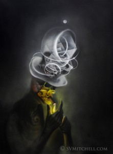 SMOKER by S V Mitchell