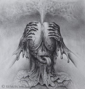 MASTURBATION OF MIND drawing